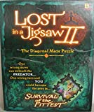 Buffalo Games Lost in a Jigsaw II - The Diagonal Maze Puzzle - Survival of The Fittest