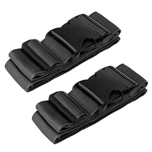 Heavy Duty Cruz Equipaje Maleta Correas Ajustables de la combinación de Accesorios de Viaje Cinturones Maleta Accessorios de Viaje 2-Pack
