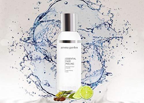 Essential Face Peeling - Reinigendes Peeling mit Vitamin C, Grapefruit, Jojoba & Eukalyptus - Verfeinert porentief & fördert die Durchblutung - Bio & Vegan - Für alle Hautzustände 125ml