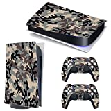 3CTOP High Qulaity Sticker Skin Protector Decals for PS5 Playstation 5 Console and 2 Controllers 15#