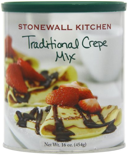 Stonewall Kitchens, Traditional Crepe Mix, 16-Ounce Canisters (Pack of 4)