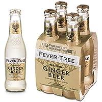 Fever Tree Premium Ginger Beer Pack de 4 Botellas 20cl - 4800 ml