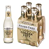 Fever Tree Fever Tree Premium Ginger Beer, 4 x 20cl