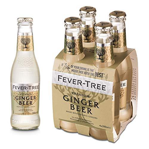 Fever Tree Fever Tree Premium Ginger Beer, 4 x 20cl