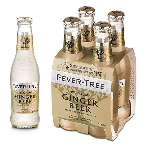 Fever Tree Fever Tree Premium Ginger Beer Pack de 4 Botellas