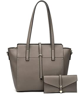 Casual Fashion Handbag 2 Piece Set Versatile Multi Piece Set (Color : E)