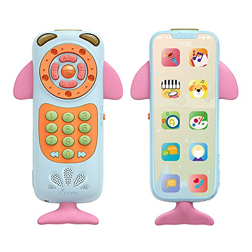 Fantastic Deal! Aibecy Mobile Phone Toys for Baby Music Phone Early Educational Learning Tools Kids ...