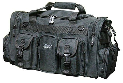 22' Tactical Duffle Military Molle Gear Shoulder Strap Range Bag TF122 Black