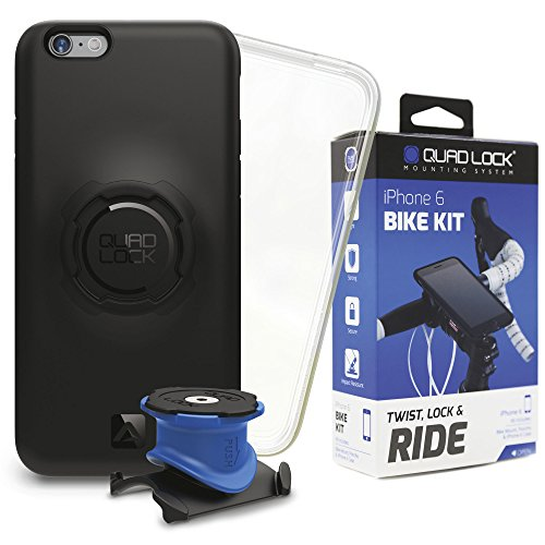 Quad Lock Bike Mount for iPhone 6/6S Size: Black