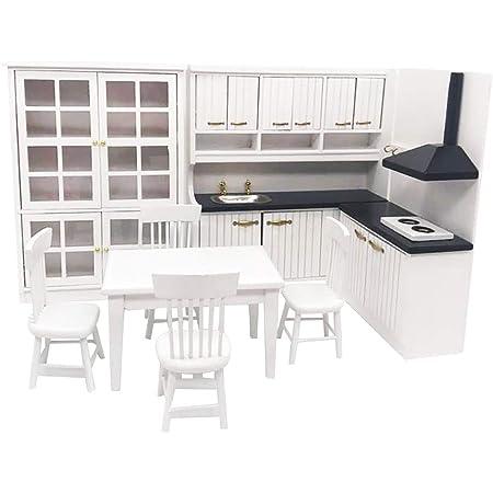 1:12 Dolls House puppenstub Miniature Furniture Accessories Set Kitchen Cooking Tool K T7V5