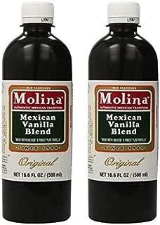 Mexican Vanilla Blend By Molina Vainilla (16 oz 2 Bottles)