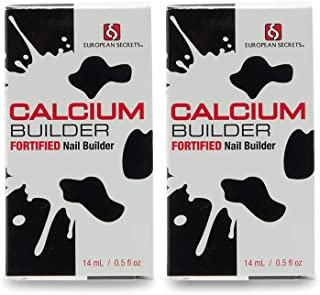 European Secrets 0.5 oz. Calcium Nail Builder, 2 Pack