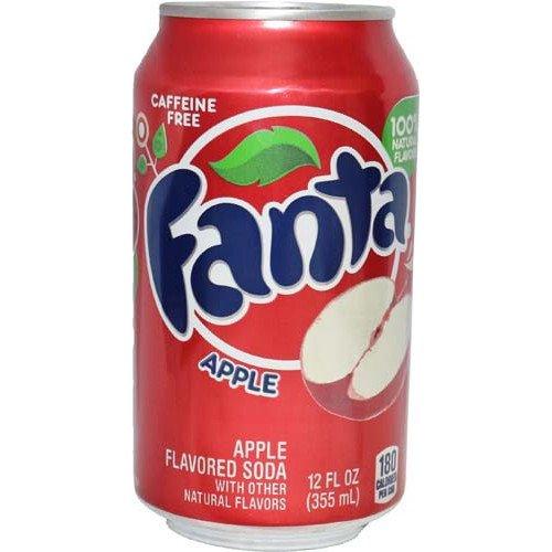 Fanta Apple 12 FL OZ (355ml) - 24 Cans inkl. 6,00 Euro DPG-PFAND