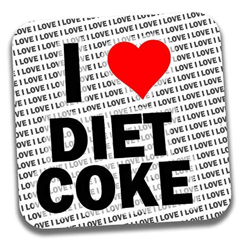 I Love Diet Coke Drinks Coaster - Gift - Birthday - Christmas - Stocking Filler