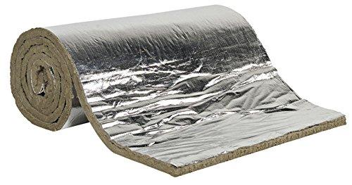 Lana de roca spess. 25mm.–10mq. aislamiento Cañas instalaciones ignífugo