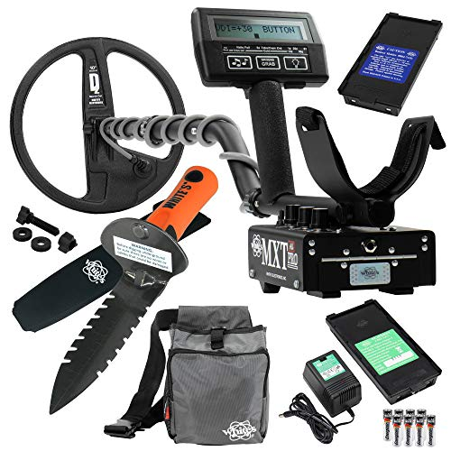 Whites MXT All Pro Metal Detector Diggers Special w/ DigMaster & Utility Pouch