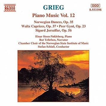 Grieg: Norwegian Dances, Op. 35 / Peer Gynt, Op. 23 / Waltz Caprices