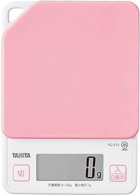 タニタ(TANITA) クッキングスケール(デジタルタイプ) ピンク ストロベリー KJ-213PK