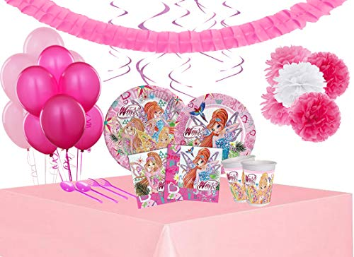 Irpot Kit n 68 Addobbi Festa Compleanno Personaggio a Scelta (Winx)