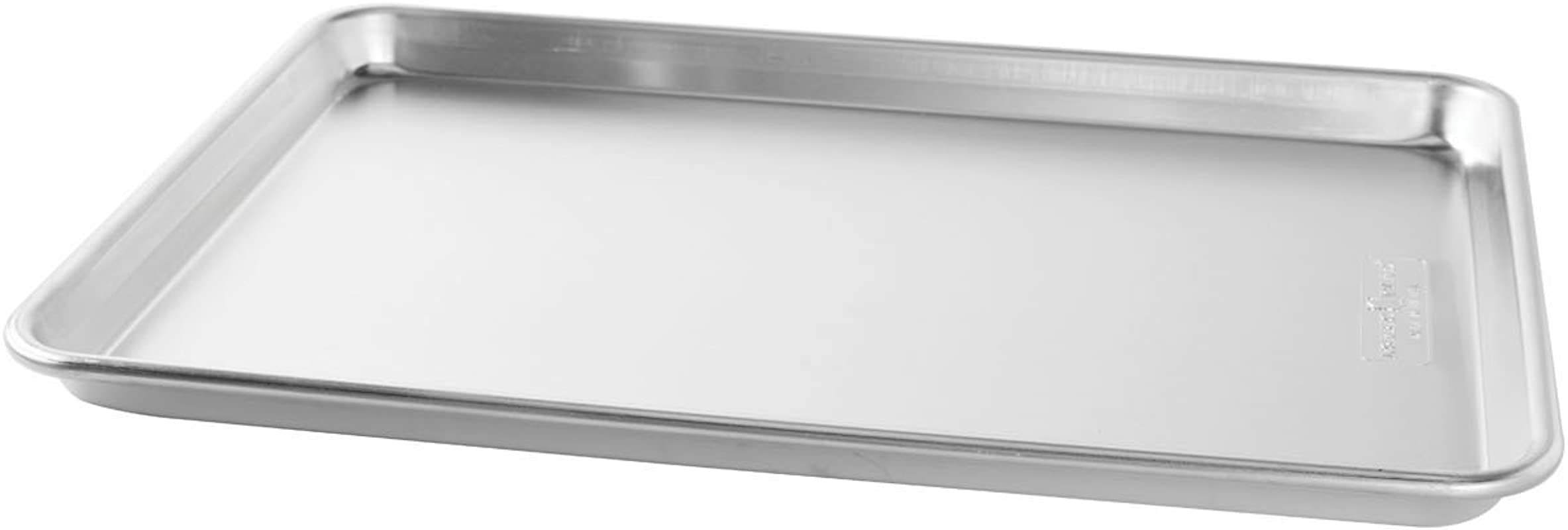 Bakers Commercial Half Baking Sheets Pack Of 2 By Nordic Ware 16 25 L X 11 25 W 1 H