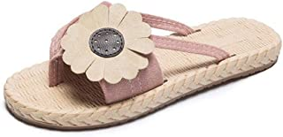 bjyxszd Men's Flip Flops Thong Sandals,Men's Sports and Outdoor Sandals,Sports Outdoor Sandals flowers word clip toe slipp...