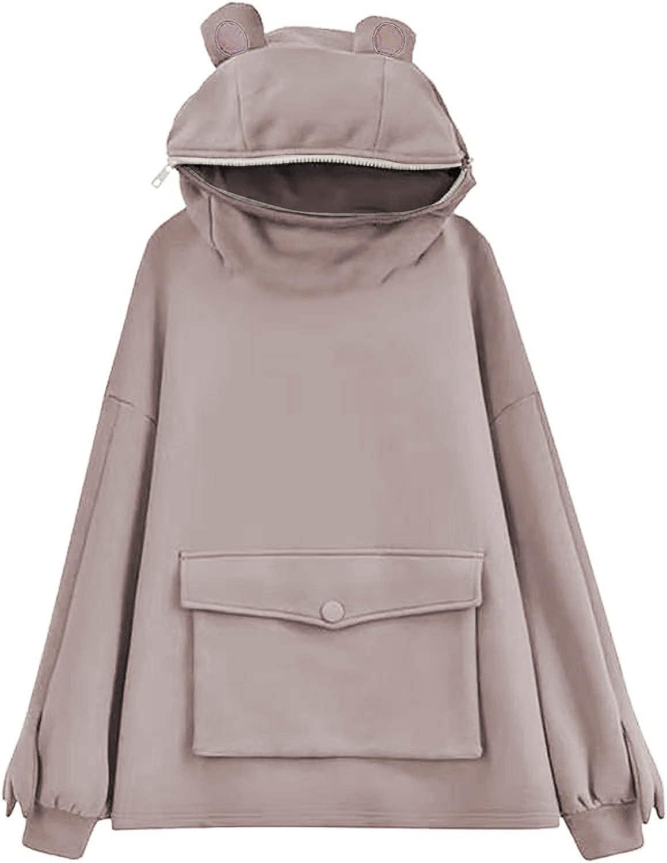 Womens Hoodies, Women Girls Cute Graphic Printed Long Sleeve Hoodie and Sweatshirts Casual Loose Pullover Tops