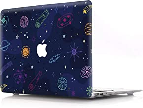 AOGGY MacBook Pro 13 inch Case 2018/2017 / 2016 Release (A1989/ A1706/A1708) with/Without Touch Bar and ID,Cosmic Space Pattern Plastic Hard Shell Protective Case - Cartoon Space
