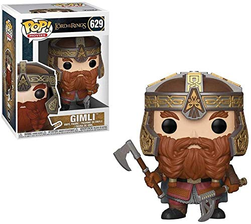 Pop! Movies: The Lord of the Rings - Gimli Collectible Vinyl Figurine from Movies Series