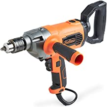 "VonHaus 10 Amp 1/2"" Heavy Duty Drill Mud Mixer with Spade Handle and Variable Speeds For Drilling and Mixing"