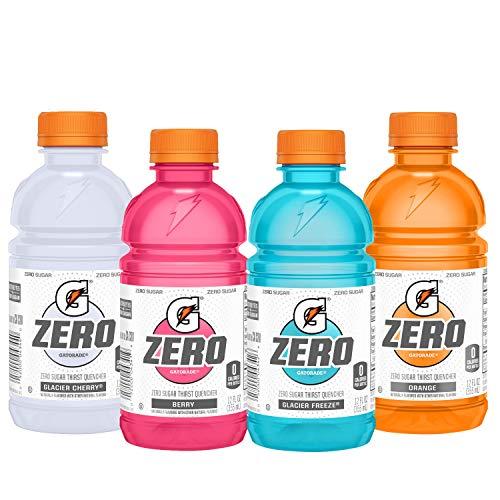 Gatorade Zero Sugar Thirst Quencher 4 Flavor Variety Pack 12 Fl Oz Pack of 24