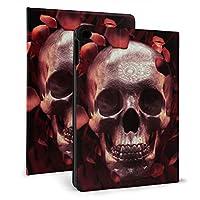 Ipad Mini5 ケース 2019 第五世代 モデル カバー Roses Skull 超薄型 超軽量 Puレザー スマートカバー 傷防止 耐衝撃 Tpu 保護 キズ防止 指紋防止 7.9インチタブレット用