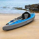 AQUATEC aufblasbare Kajaks   das Schlauchboot Kanu ist in 2 Stilen & entweder als Einzeln oder Tandem erhältlich (Ottawa (Pro), Einzeln)