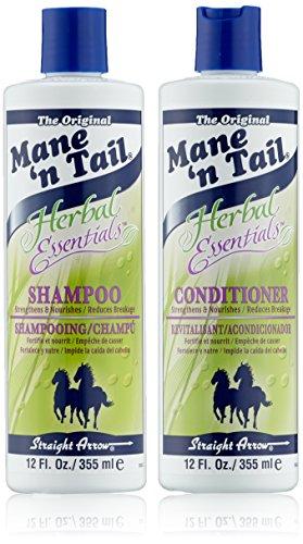 Mane 'n Tail - Juego De Champú y Acondicionador Herbal Essentials