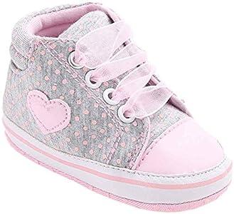 ronamick Babyschuhe - Patucos para niña, Color Gris, Talla Age:0~6 Monate