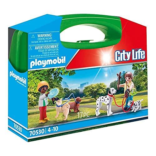 PLAYMOBIL City Life 70530 Mitnehm-Hundepark, Ab 4 Jahren