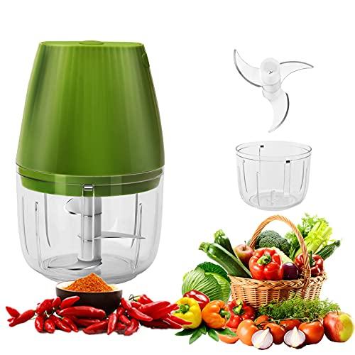 Mini Mixer Elektrisch,LolStore Mini Zerkleinerer,Mini Küchenmaschine,Mini Hacker Elektrisch,250ml Küchenmaschine Mixer,Food proccesor(250ML)