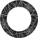 Amscan 591293 Spider Web Dinner Plates, 10', 40 pcs
