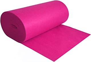 YANZHEN Hallway Runner Rugs Corridor Carpet Disposable Cutable Purple Pink Stage Ceremony 5mm Thick, 1 M / 1.2 M / 1.5 M /...