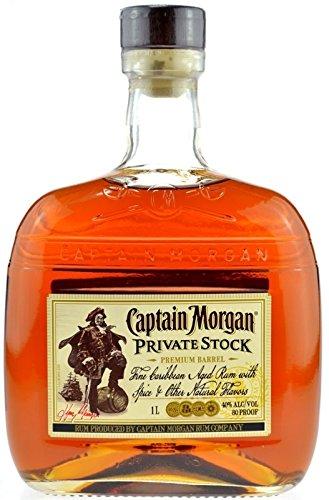 Captain Morgan Private Stock 1,0l Premium Barrel - Spirituose mit original karibischem Rum