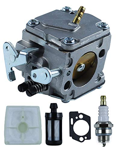 POSEAGLE 1110-120-0609 Carburetor Tune-Up Kits with 1110 120 1601 Air Filter for for Stihl 041 041AV 041 Farm Boss Chainsaw