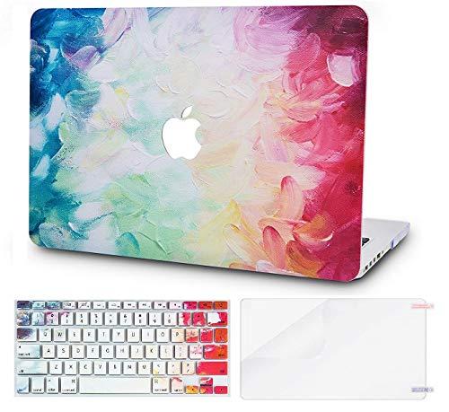 KECC MacBook Pro 13 Pulgadas (2020/2019/2018/2017/2016, Touch Bar) Funda Dura Case w/EU Cubierta Teclado + Lamina Protectora MacBook Pro 13.3 Ultra Delgado Plástico {A1989/A1706/A1708} (Fantasía)