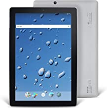 Nextbook Ares 10A, 10.1'' Android Tablet, 1280 x 800 HD Display Touch Screen, Quad-Core Processor, 2GB/32GB, Black/Silver, Wi-Fi Tablet, M1021AAP