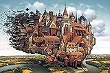 XYIDAI Puzzle Juego Ilustraciones, for los Adolescentes Pintura al óleo Sunrise Impression Rompecabezas for Adultos difíciles, 500/1000/1500/2000/4000 Pieces - Set de Madera DIY
