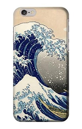 Katsushika Hokusai The Great Wave off Kanagawa Case Cover Custodia per iPhone 6 Plus iPhone 6s Plus