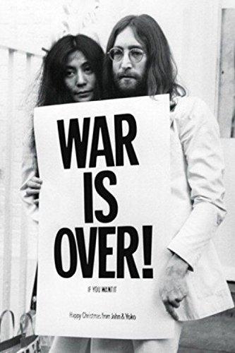 1art1 54528 John Lennon - War Is Over Poster, 91 x 61 cm