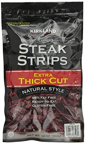 25% OFF KIRKLAND Max 42% OFF SIGNATURE Steak Strips Extra Cut Thick Ounce 24