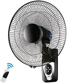 HWJ Ventilador de Pared silencioso, 16 pulgadas/42 cm, Oscilante-Control Remoto-Temporizador-3 velocidades-Modo 3, para la Cocina Dormitorio Oficina
