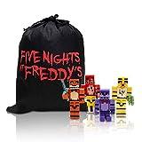 VANVENE Action Figures FNAF Mini Figurine Toys 8pcs/Set & Bag