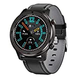 XYZK 2021 New Men's DT78 Smart Watch IP68 Pantalla Táctil Completa Impermeable Smart Watch Adecuado para Android iOS Teléfono Móvil Sports Fitness Tracker,C