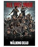 woyaofal The Walking Dead Posters Papery Jigsaw Puzzle 1000 Piezas para Juguetes para Adultos Juego de descompresión 38X26CM